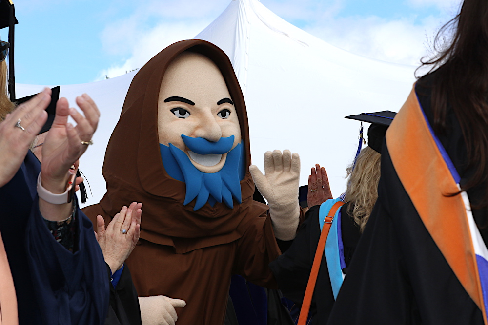 New Mascot Revealed at Commencement Ceremony at Saint Joseph's College of Maine