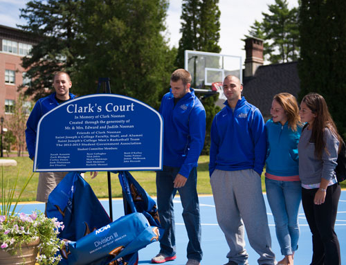 At its core, Clark's Court celebrates students