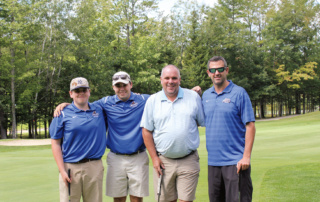 Golf foursome at Golf Classic