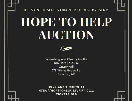 Saint Joseph's College Students hosts Hope to Help Auction Benefiting Uganda Women and Infants