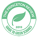 Princeton Review Green Schools badge